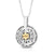 Angels' Names: Silver & Gold Star of David Kabbalah Necklace, men Sterling Silver necklace, jewish jewelry