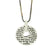 Kabbalah pendant, Rabot Banot: Sterling Silver Heart Necklace