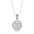 925 Sterling Silver Angels' Names Protection Pendant