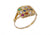 14K Yellow Gold Hoshen Ring Attracting abundance and forming a direct connection with the Creator