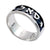Sterling Silver, Silver Ring, Samech-Aleph-Lamed, Kabbalah Ring
