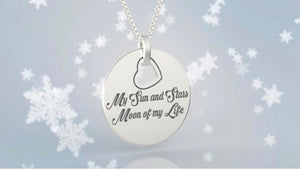 Moon of My Life, My Sun Stars, Game of Thrones Necklaces, her necklace, Daenerys Targaryen, khaleesi necklace, Love And Friendship Jewelry