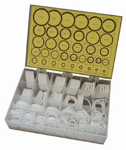 568 PTFE KIT - 325 PTFE O-Rings (55-58 Shore D) in 36 Different Sizes O-Ring Kit
