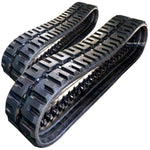 "Two Rubber Tracks Fits Bobcat S330 450X86X60 18"" C-Lug Tread"