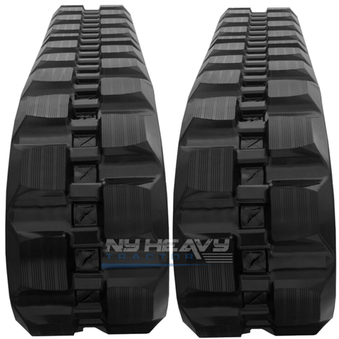 TWO NY HEAVY RUBBER TRACKS FITS MUSTANG RT2500 450X86X58
