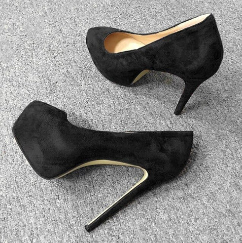 Womens Platform Party High Heels Shoes Pumps