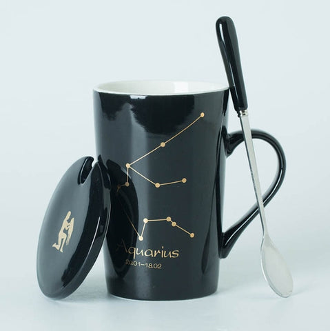 12 Constellations Zodiac Sign Mugs Coffee Tea Cup