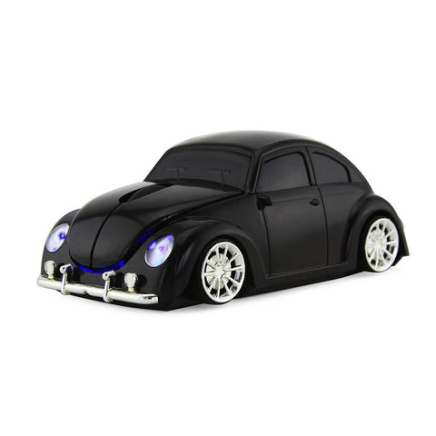 Wireless Beetle Car Computer Mouse