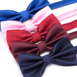Men Fashion Wedding Bowties Solid Colors  Neckwear Accessories