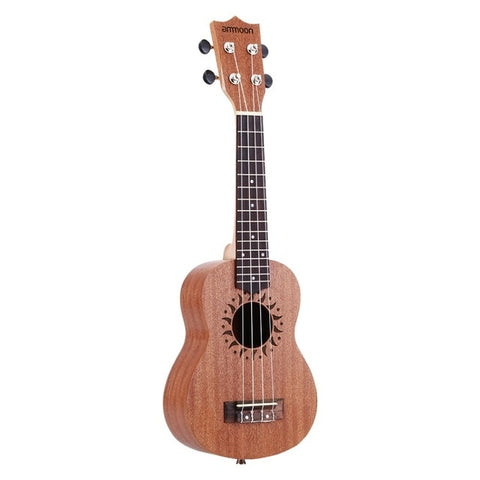 "21"" Ukulele Set 15 Fret 4 Strings Stringed Musical Instrument"