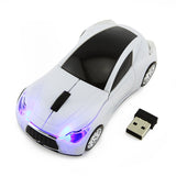 Infiniti Sports Car Wireless Mouse