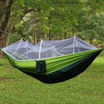 1-2 Person Outdoor Camping Hammock w/ Mosquito Net