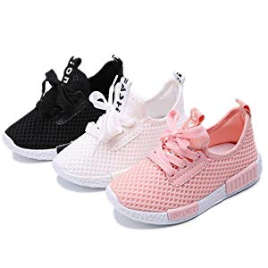 Kids Shoes Boys Girls Casual Sneakers Breathable Soft Soled Running Sports