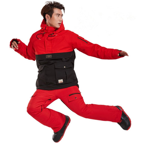 Snowboard Ski Suit Waterproof Jacket Pants Set