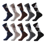 Cotton Dress Men Classic Socks