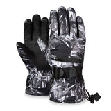Winter Thermal Ski Gloves Warm Touch Screen Fingers