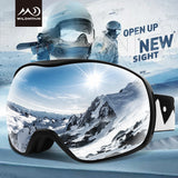 Snowboard Goggles Dual Layer Ski Glasses UV400