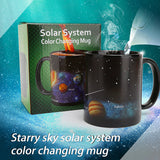 Star Solar System Ceramic Mug Color Changing Heat Revealing Coffee Tea Cup