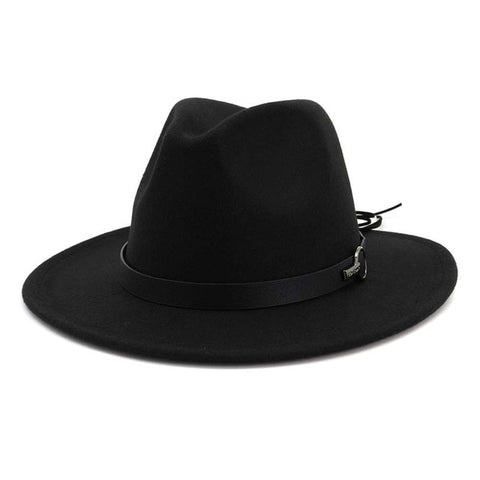 Winter Wide Brim Wool Jazz Fedora Hat