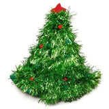 Christmas Hat Plush Elf Santa Tree Party Props Decoration