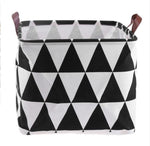 Folding Laundry Basket Toys Organizer