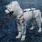 Large Dog Raincoat Clothes Transparent Light Waterproof
