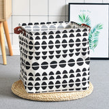 Letters and Shapes Toys Basket Organizer