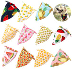 Fruit Pet Dog Cat Bandana Scarf Adjustable Cotton