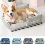 Cotton Ultra Warm Plush Delux Dog Beds