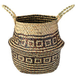 Seagrass Woven Tote Basket For Plants