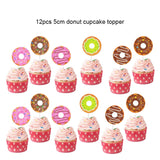 Baby Birthday Decor Donut Theme Party