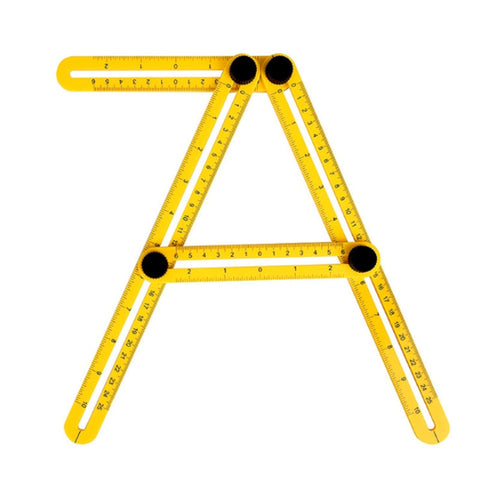Professional Plastic Protractor and Angle Tool
