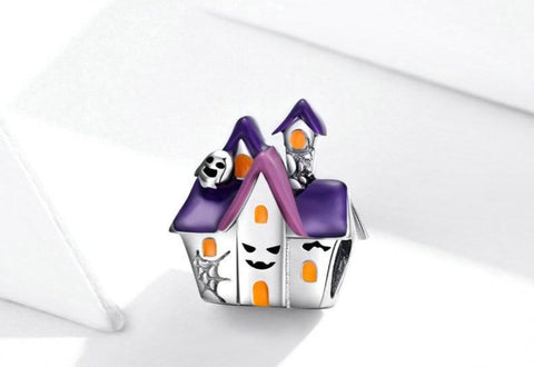 Sterling Silver Haunted House Charm