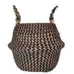 Modern Weave Basket With Handles