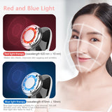 LED Light Facial Massager Therapy Sonic Vibration
