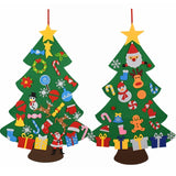 DIY Childrens Felt Christmas Tree Decorations Game Gift