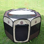 Outdoor Pet Foldable Exercise Playpen Tent