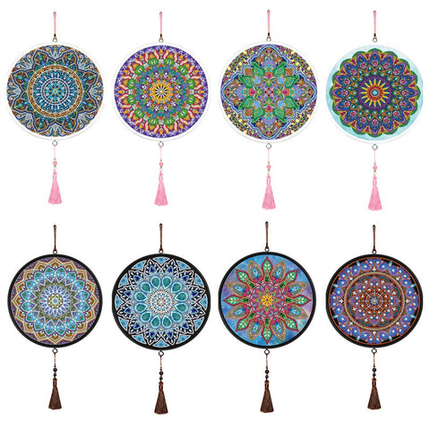 Mandala Mural Tassels Diamond Art Home Decor