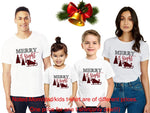 Merry Christmas Family Matching T-shirt