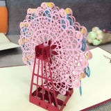 3D Pop Up Greeting Cards Birthday Valentines Wedding Engagement