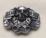 Men Women Skull Metal Belt Buckle