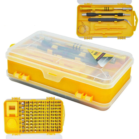 108 PC Household Tool Repair Set  For Computer Cellphone Glasses Digital Electronic Device
