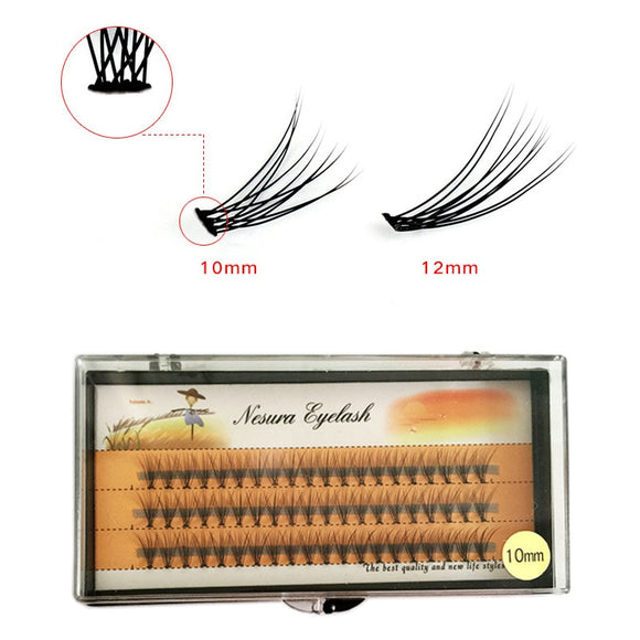 Bright Single Grafting Eyelash Eye False Individual Fake Eye Lashes Makeup Extension