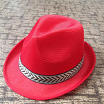 Womens Summer Jazz Hat Panama Fedora