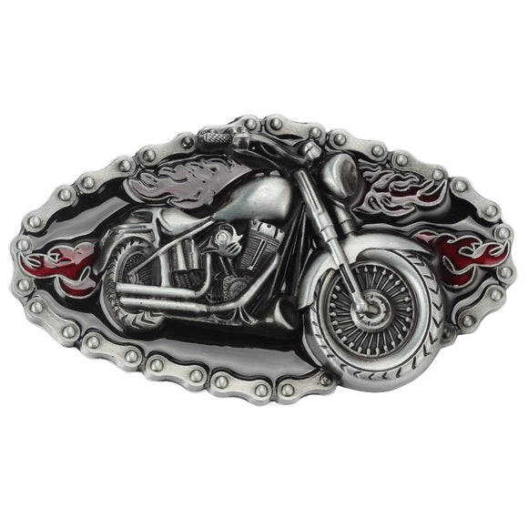 Motorcycle Cowboy Alloy Belt Buckle Men Women