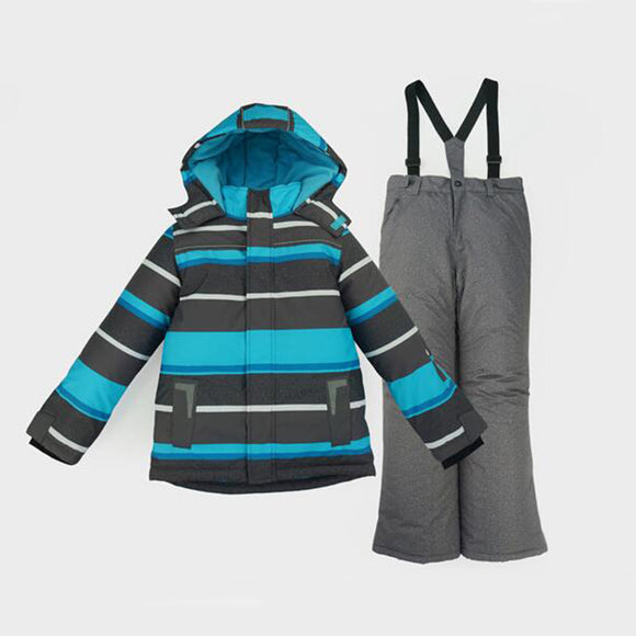 Boys Ski Jacket Suit Set Children Waterproof Windproof Kids Winter Warm Snowboard Outdoor