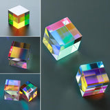 Six-Sided Optical Glass Cube Prism