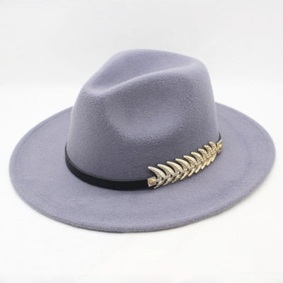 Winter Wool Stylish Fedora Sombrero Hat