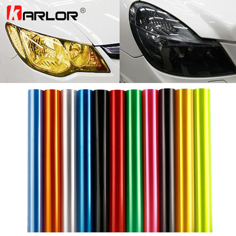 Car Tint Sticker Headlight Vinyl Decal Smoke Film Sheet