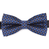 Mens Stripe Dots Plaid Bowtie